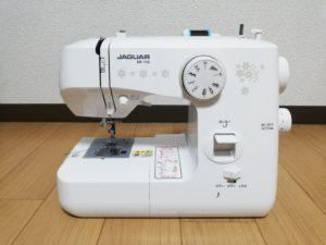 私が愛用する、初めて購入したミシン JUGUAR MP-130